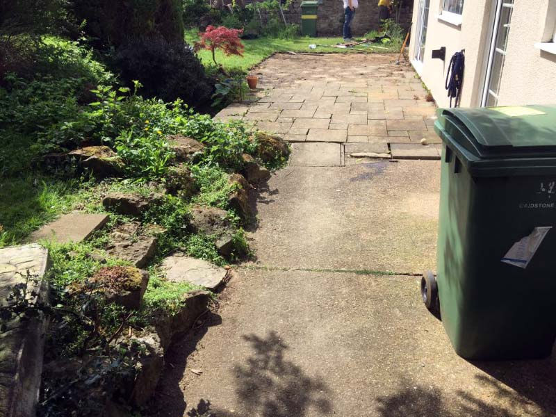 Lancashire Block Paving Projects - Before