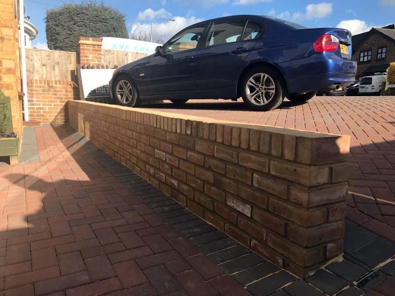 Lancashire Brick Wall - After