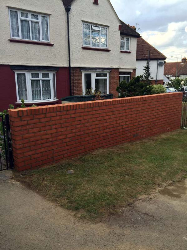 Lancashire Brickwalls - After