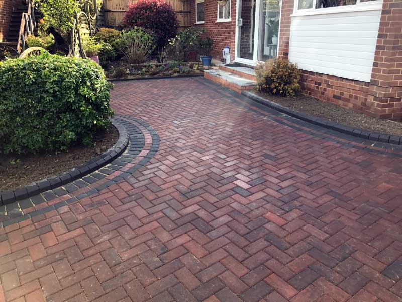 Landscaping, Block Paving, Driveway, Steps