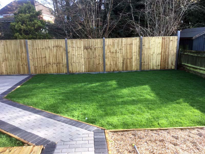 Landscaping, Decking, Block Paving, Fencing