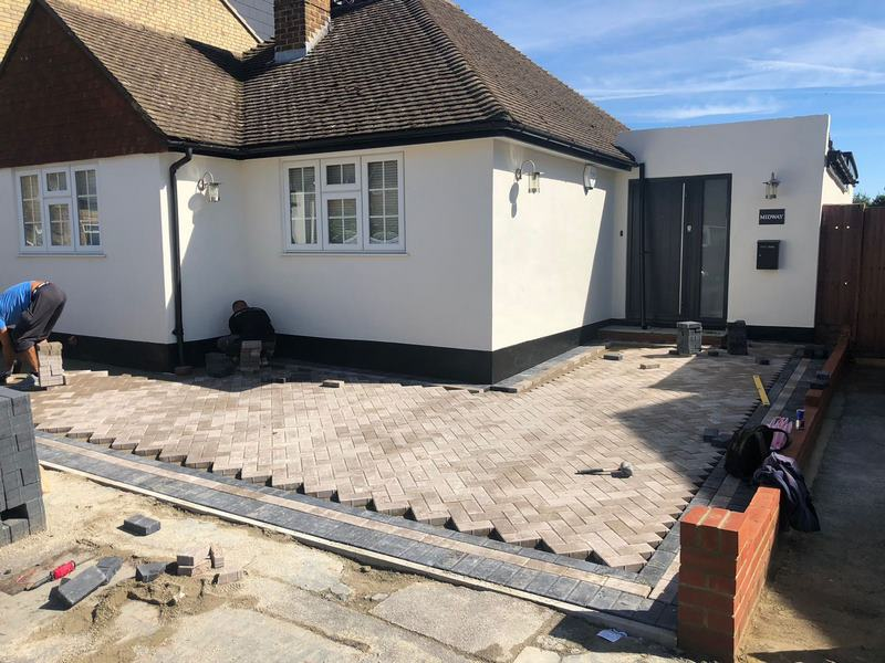Lancashire Block Paving - Natural Grey