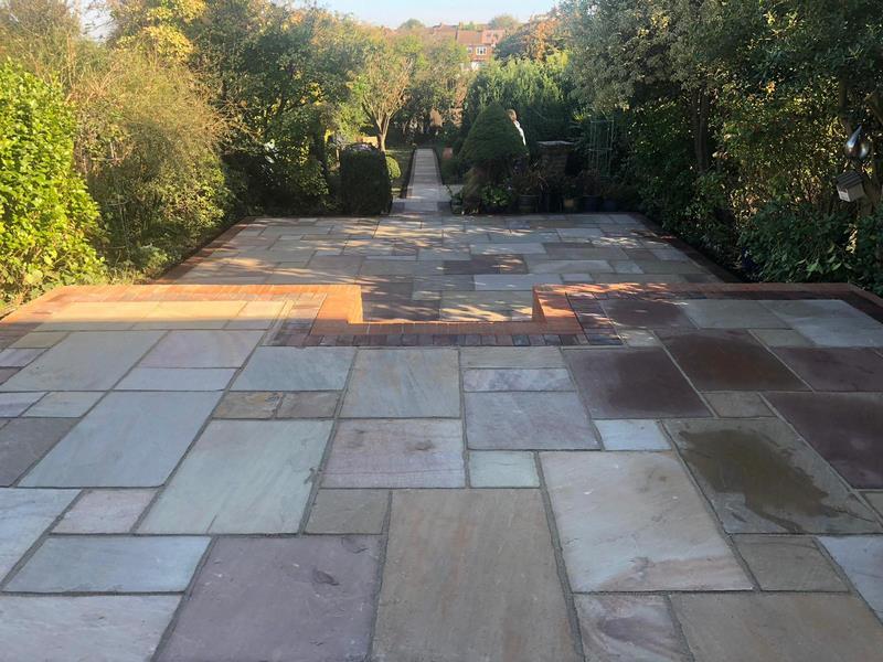 Lancashire Patio Project Back Garden