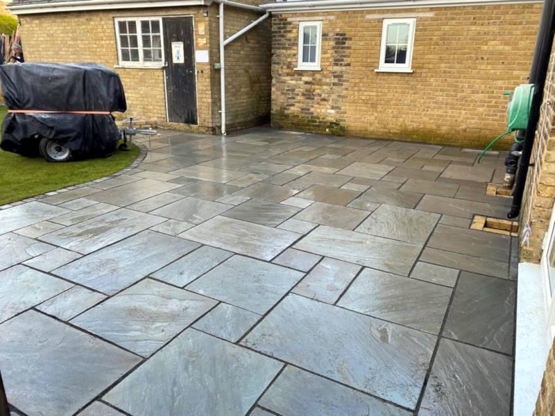 Lancashire Patio Back Garden