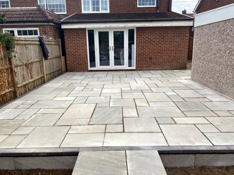 Lancashire Patio Steps