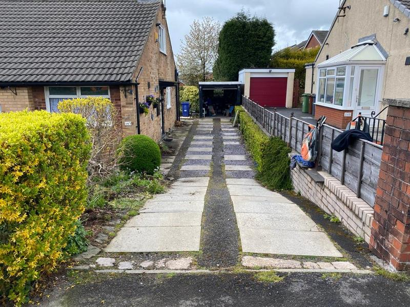 Block Paved Driveway and Patio